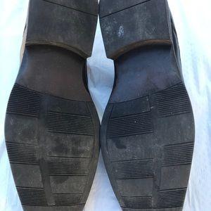 Size 11.5 alfani black men's casual shoes